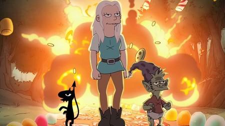 Genial tráiler final de '(Des)encanto': la fantasía medieval de Matt Groening nos hechiza con humor y música folk