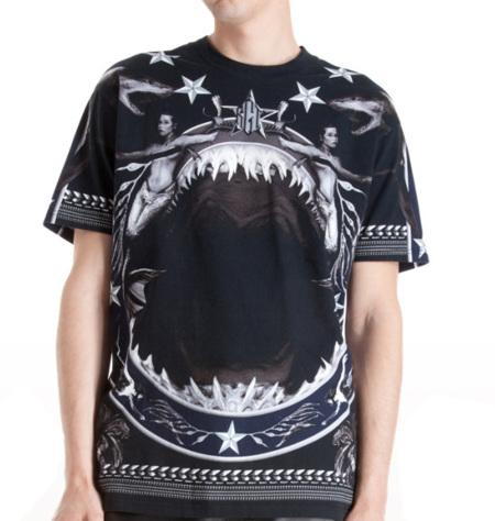 Givenchy se pasa al tiburón en su nueva camiseta