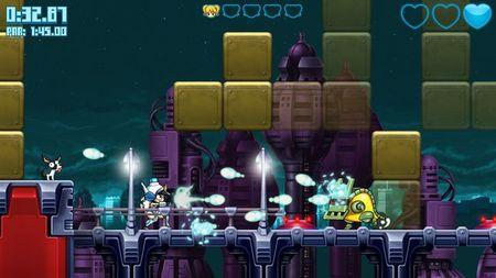 Un vistazo en profundidad al 'Mighty Switch Force! Hyper Drive Edition' de la eShop de Wii U con dos vídeos