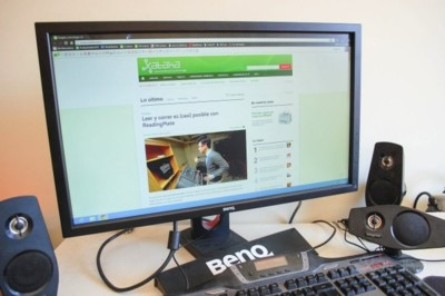 BenQ XL2420T, análisis de un monitor de 120 Hz.