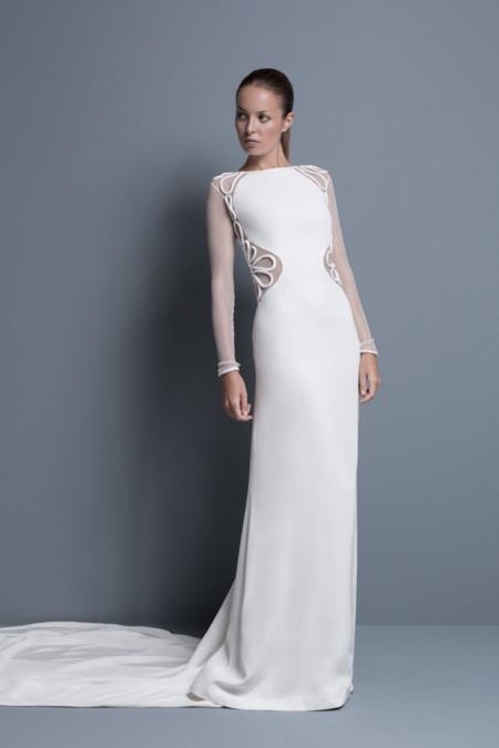 vestido de novia de Colour Nude