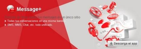 Vodafone Message+, la aplicación de mensajería instantánea con distintas vías de comunicación
