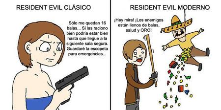 Resident Evil Clasico Moderno