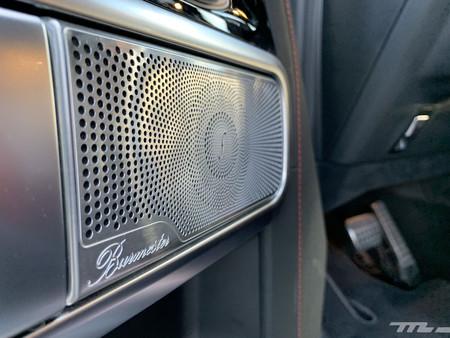 Mercedes-AMG G63 altavoz Burmester