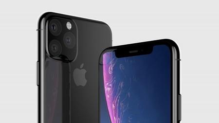 Este sería el diseño definitivo de los iPhone XI y XI Max: triple cámara trasera en triángulo como principal protagonista
