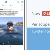 El streaming gana terreno, Periscope se integra de forma nativa a la app de Twitter