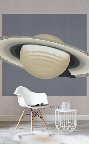 Si tú también soñabas con ser astronauta, te van a encantar estos diseños de papel pintado