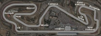 El Circuit al detalle, por BMW Sauber