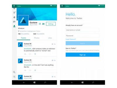 Twitter para Windows 10 Mobile, ¿a la vuelta de la esquina?