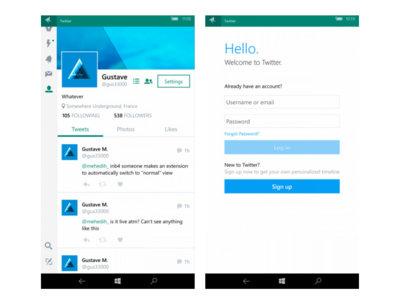 Twitter para Windows 10 Mobile, ¿a la vuelta de la esquina?