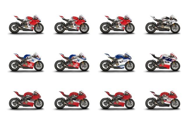 Ducati subastará por eBay las 12 espectaculares Panigale V4 participantes en la carrera de la WDW 2018