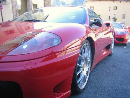 Concentración Ferrari en Andorra