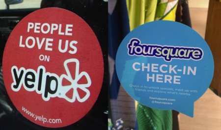 Foursquare y Yelp