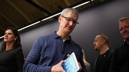 Apple vende un 13% más de iPhones y un 9% menos de iPads en el tercer trimestre