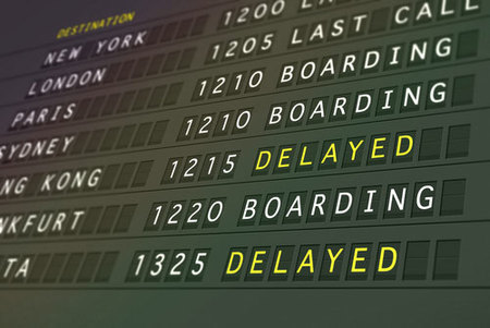 Las compañías aéreas americanas más impuntuales