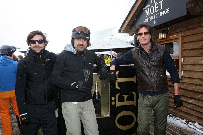 Diego Osorio, Javier Fitz-James Stuart y Luis Medina