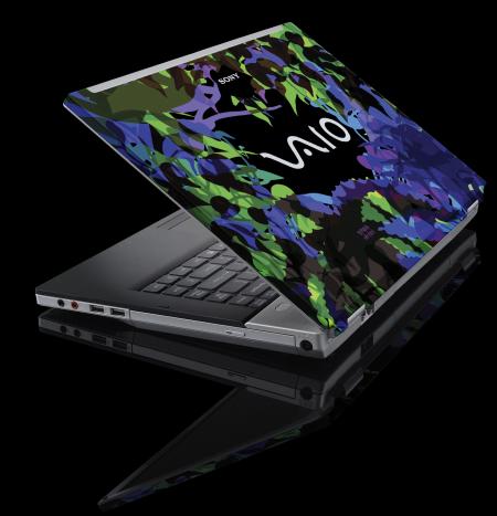 Portátiles personalizados Sony VAIO Graphic Splash Maya Hayuk