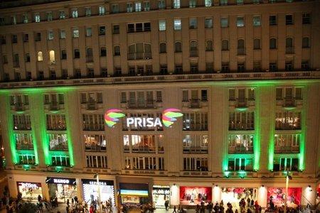 PRISA cede el control de todos sus canales a Telecinco
