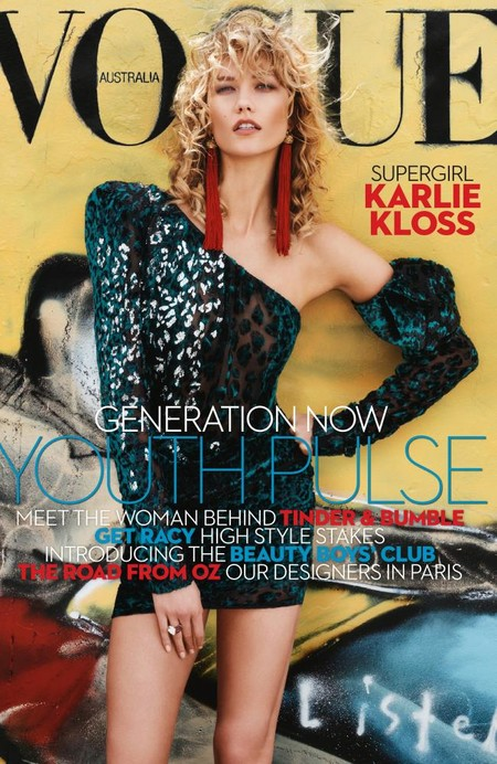 Vogue Australia: Karlie Kloss