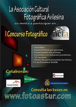 I concurso fotográfico ACFA