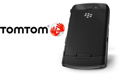 TomTom servirá los datos sobre mapas y tráfico a las BlackBerries