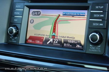 Navegador GPS TomTom en el Mazda6