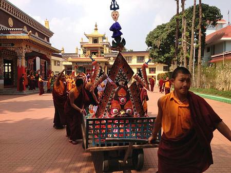 Impresionantes esculturas de mantequilla hechas por monjes budistas