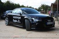 Presentación del Goodyear Eagle F1: Audi TT-RS, Audi A7, Mercedes CLS y cómo se hace un neumático