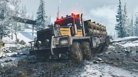 Snowrunner y sus desafíos de conducción en entornos extremos se unen hoy mismo por sorpresa a Xbox Game Pass