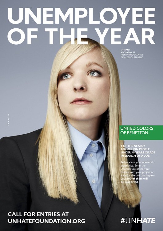 Foto de Benetton - Unemployee of the year (6/18)