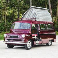 Esta preciosa furgoneta camper clásica es una Bedford CA Dormobile de 1961 que se subasta y podría salir por 74.000 euros