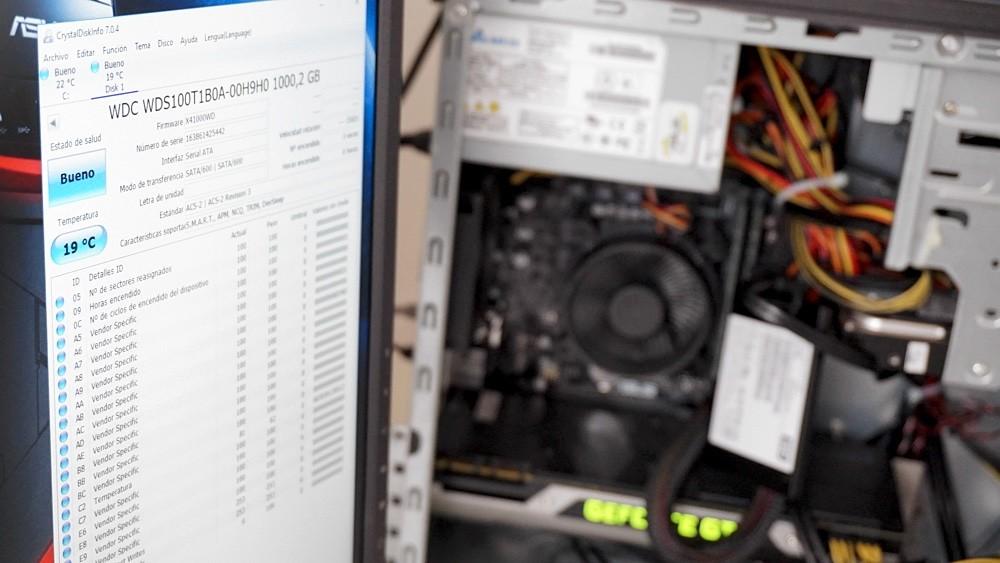 WD Blue SSD prueba