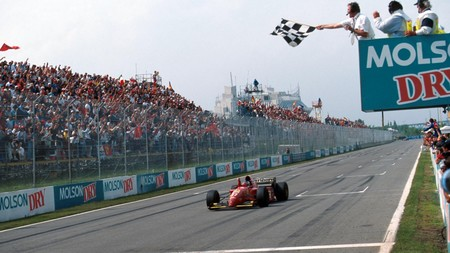 Jean Alesia Ferrari Canada F1 1995
