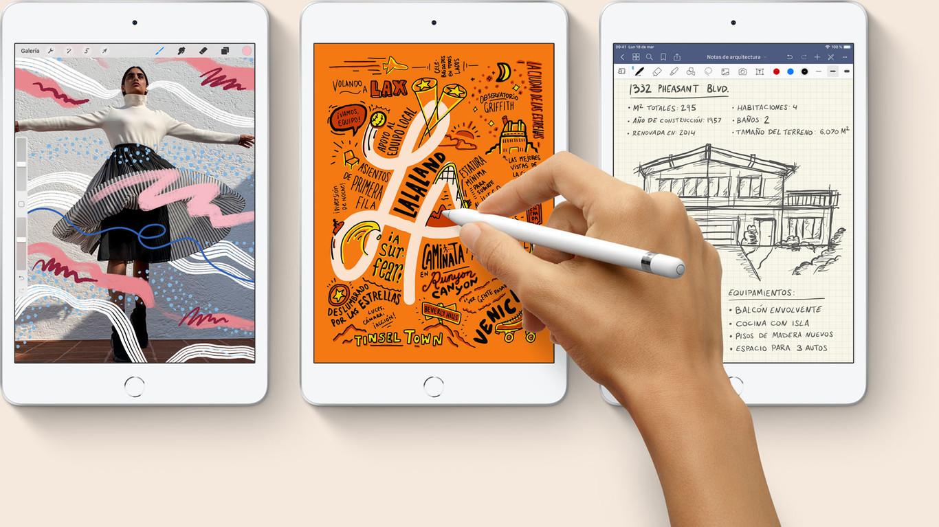 Apple renueva, por fin, el iPad mini y el iPad Air: A12 Bionic y soporte para el Apple Pencil; estos son sus...