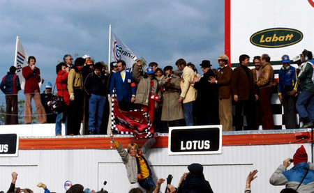 Podio GP Canadá 1978