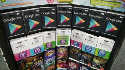Pronto tendremos acceso a las tarjetas de regalos de Google Play