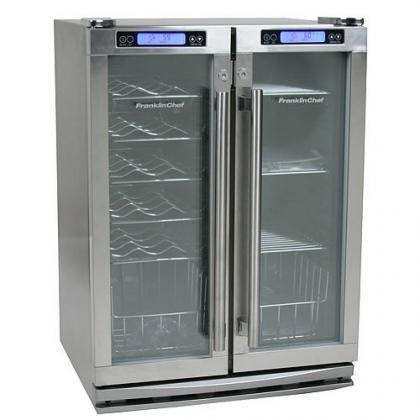 Frigorífico con dos compartimentos a diferentes temperaturas