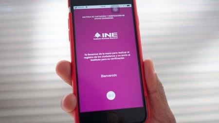 El INE podría facilitar su aplicación de recolección de firmas para que el nuevo gobierno de México haga sus consultas ciudadanas