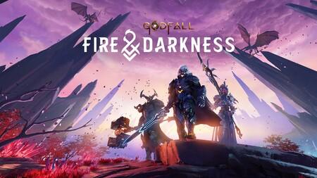 Godfall pone rumbo a PS4 junto con el lanzamiento de la expansión Fire & Darkness y la actualización gratuita Lightbringer
