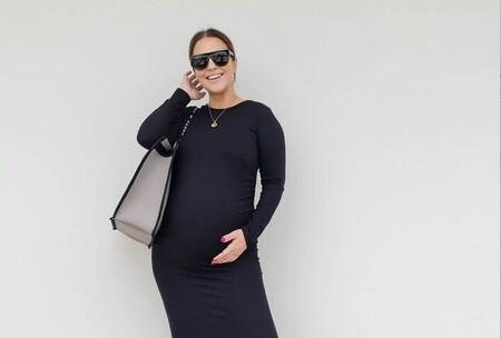 Paula Echevarría estrena la nueva colección premamá de Primark con este vestido de 14 euros