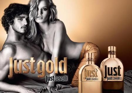 Just Gold la nueva y sensual fragancia de Just Cavalli