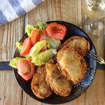 Patatas de Olot, la deliciosa receta de patatas rellenas, con truco para que te queden crujientes por fuera y cremosas por dentro