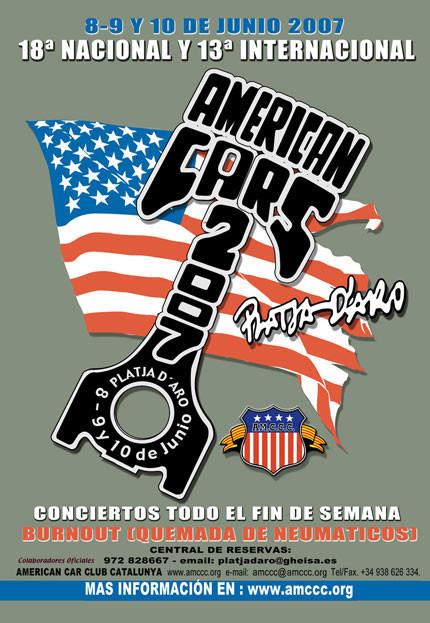 Nos vemos en Platja d'Aro en el American Cars 2007