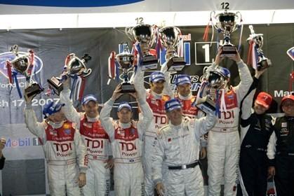 El Audi R10 TDI vence las 12 Horas de Sebring