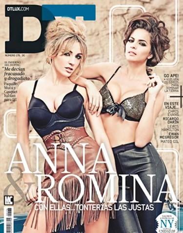 Anna Simon y Romina Belluscio, puro sex-appeal en DT: ¡¡qué más se puede pedir!!
