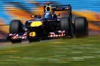 Sebastian Vettel se pasea en el Gran Premio de Turquía