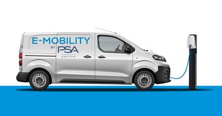 Las Peugeot Expert, Citroën Jumpy y Opel Vivaro tendrán versión eléctrica en 2020, con hasta 300 km de autonomía