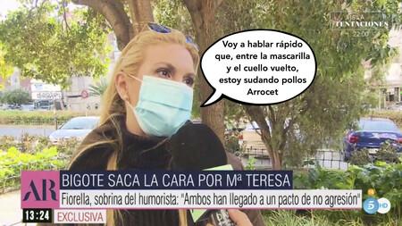 Fiorella, sobrina de Edmundo Arrocet, responde a María Teresa Campos y Bigote tras haber sido negada por ellos