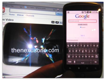 Nexus One se deja ver en un primer vídeo y listado de especificaciones