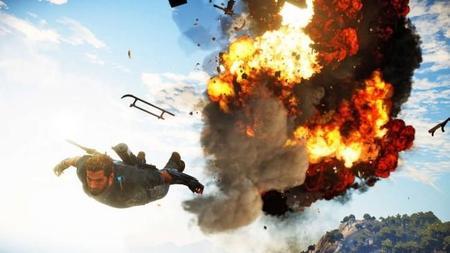 Rico vuela y hace explotar helicópteros en las nuevas capturas de Just Cause 3